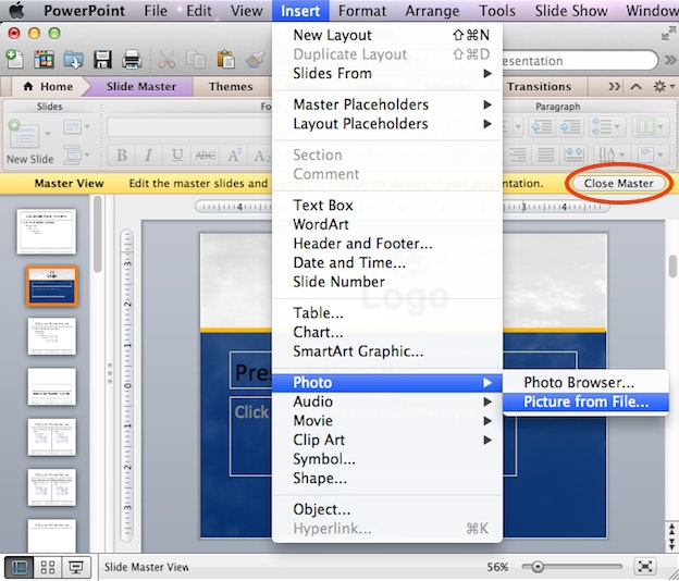 how to create a custom powerpoint template design