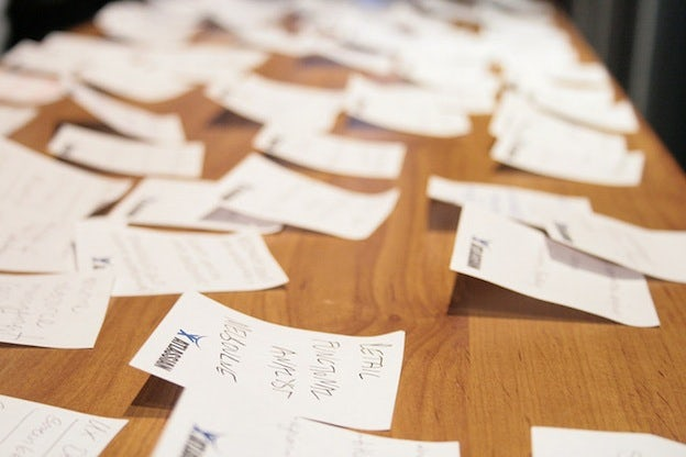 Card Sorting Exercise, by CannedTuna on Flickr