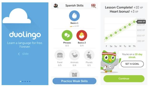 App Design: Duolingo