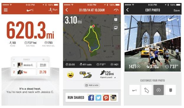 App Design: Nike+ Running
