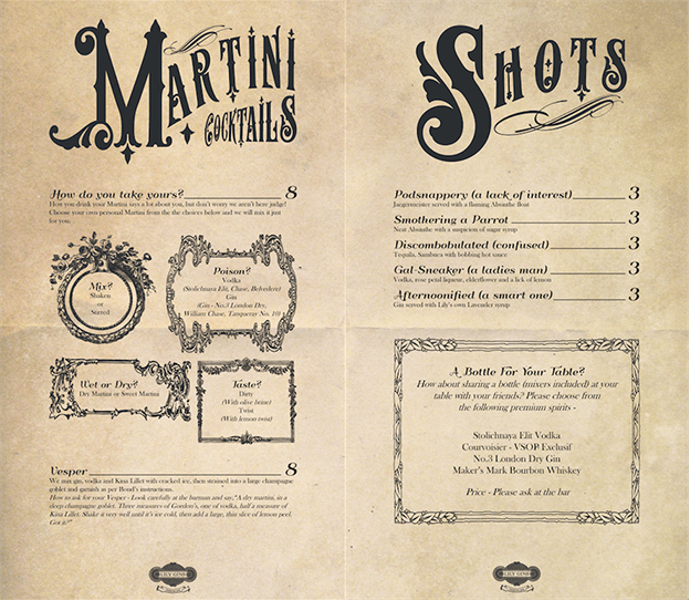 8 essential restaurant menu design tips 99designs