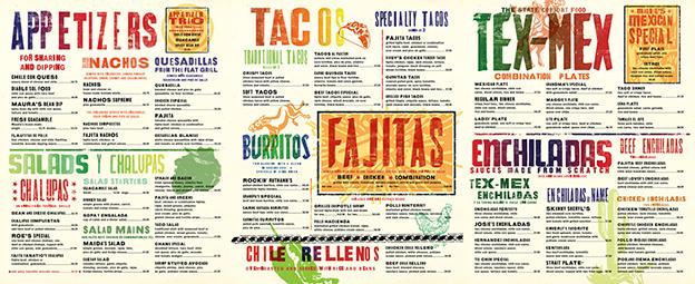 Essential restaurant menu design tips the creative edge