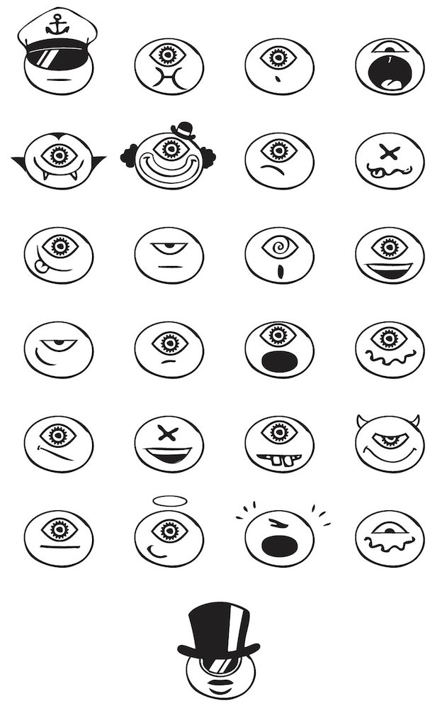 emoji design by Greshney