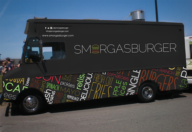 30 food truck designs to serve up summer 99designs for How to design a food truck