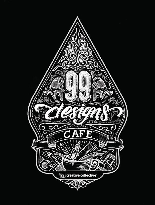 99designs Cafe Final Illustration