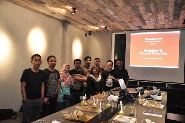 99designs Cafe Jakarta July 1