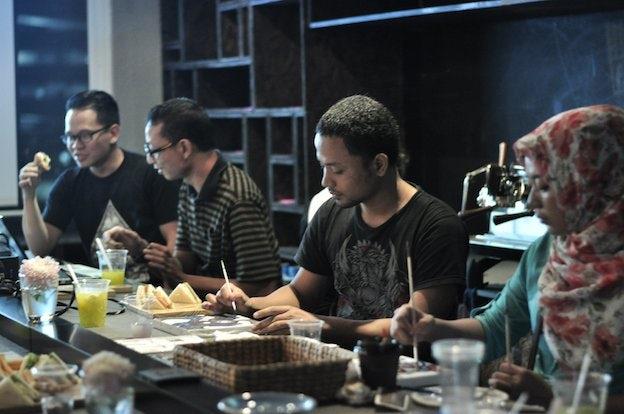 99designs Cafe Jakarta July 7