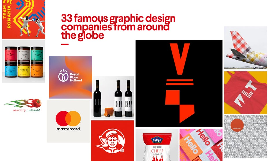 40 Famous Graphic Design Companies From Around The World 99designs