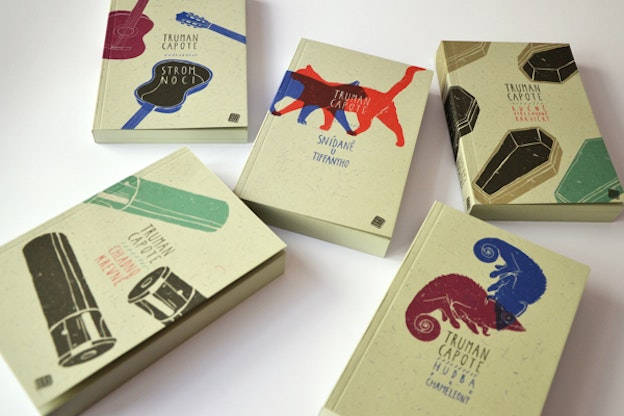 Truman Capote series by Nikola Klímová