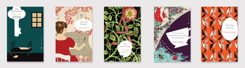 modern literary classics book covers