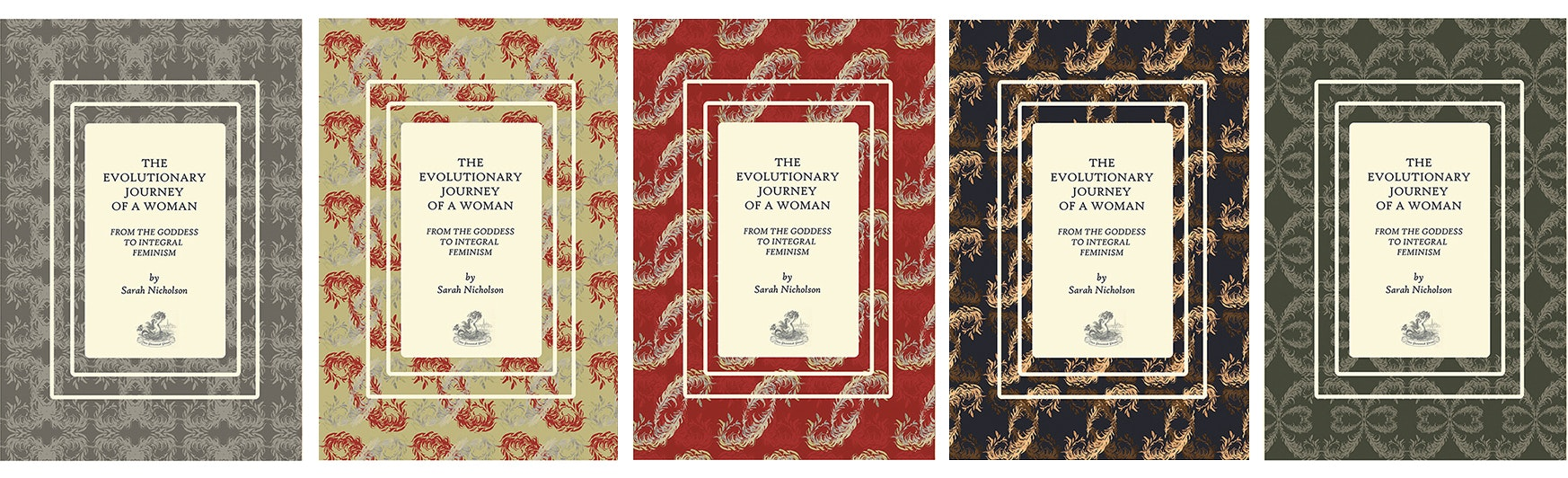 book series covers patterns