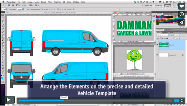 5 tips to get you started in vehicle wrap design for Car wrap design templates