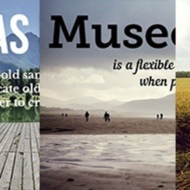 3 principles for perfect typeface pairings