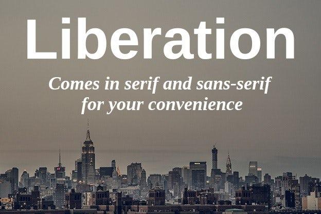 Pair typefaces: Concordance