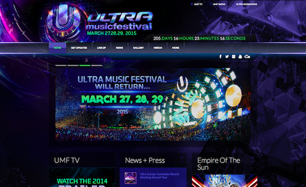 Web design for Ultra
