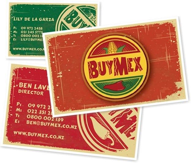 Visitenkarten Design für Buy Mex
