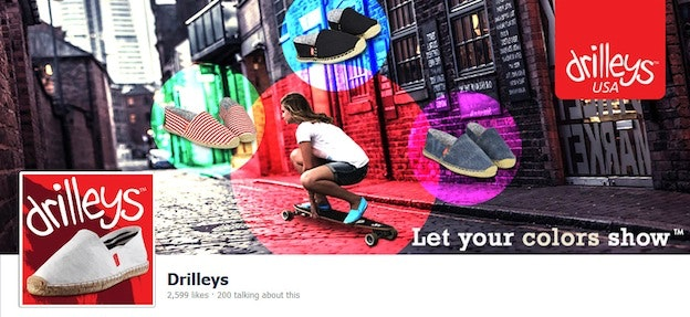 Drilley's Facebook cover