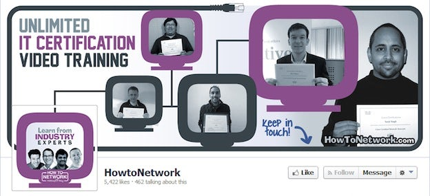 HowTo Network Facebook cover
