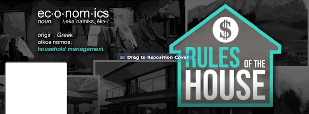 Rules of the House Facebook cover