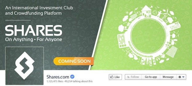 Shares Facebook cover