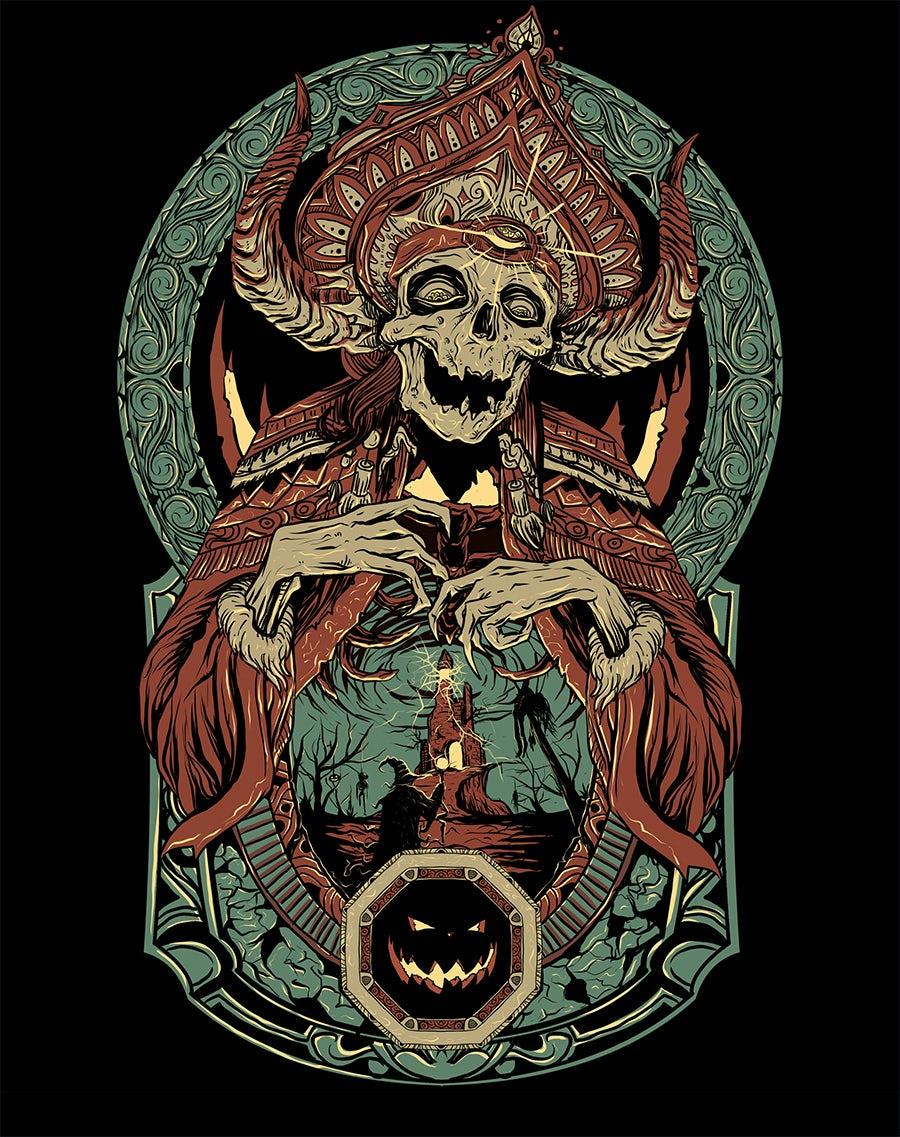 skeleton monster design