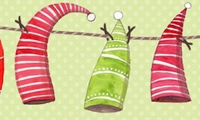 99designs partners with Eventbrite to create holiday event banners!