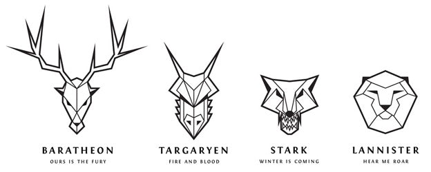 25+ Logo Game Of Thrones Line Art Images