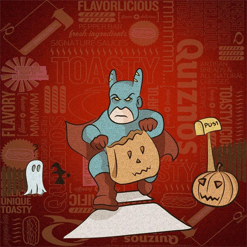 Quiznos Halloween