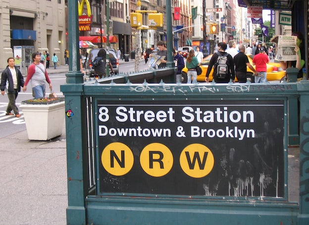 Famous Fonts, New York Subway - Helvetica