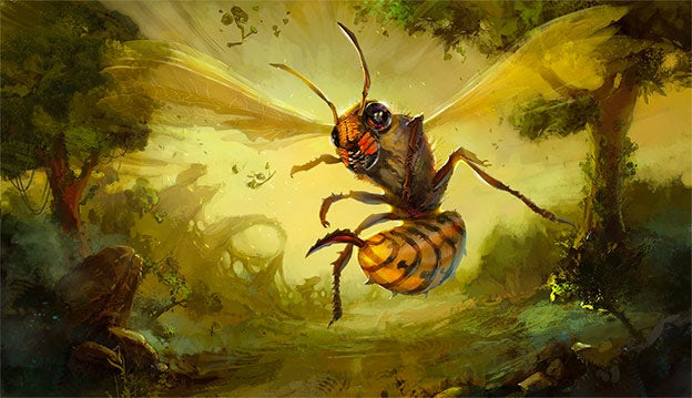 wasp illustration