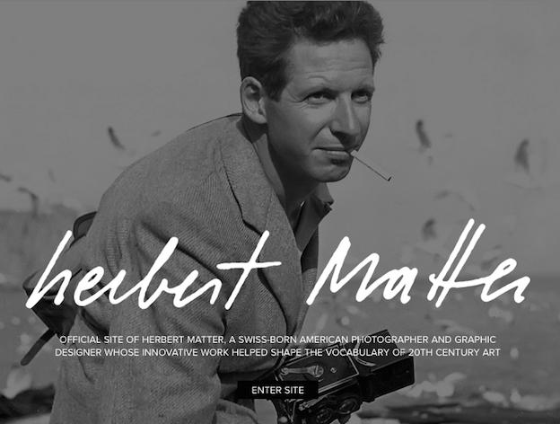 Herbert Matter Design-Portfolio
