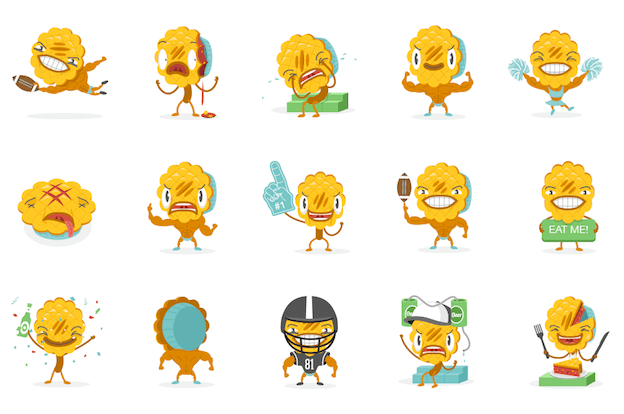 Humble Pie Emojis