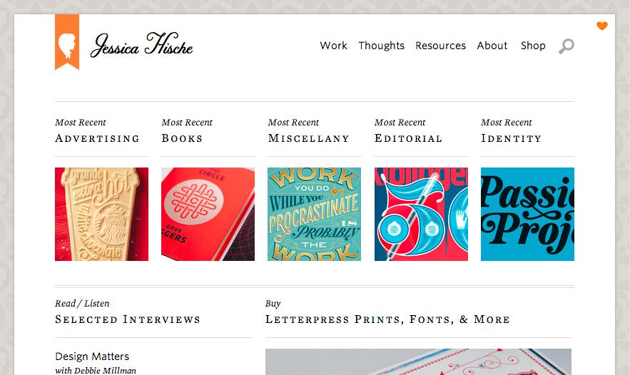 Jessica Hische Design-Portfolio