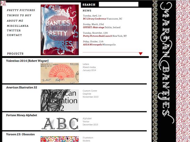 Marian Bantjes Design-Portfolio