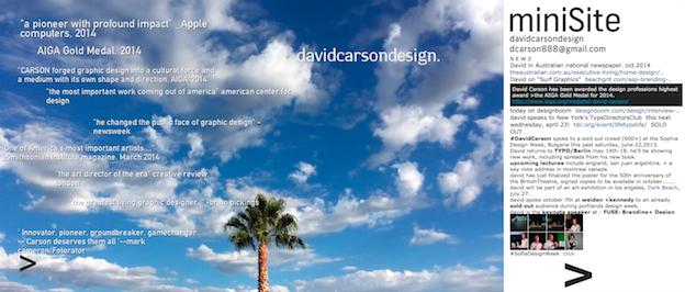 David Carson Design-Portfolio
