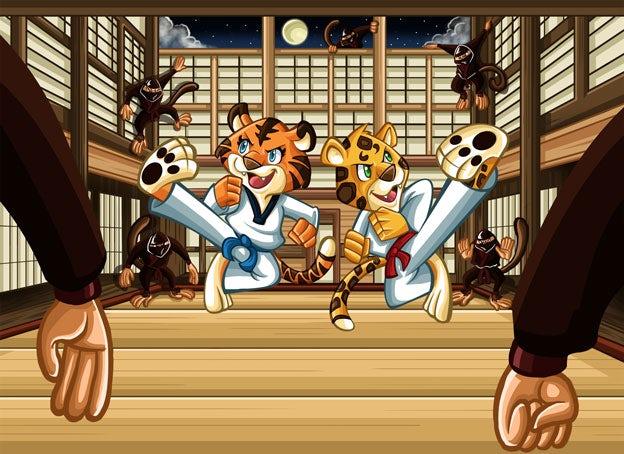 tiger ninjas