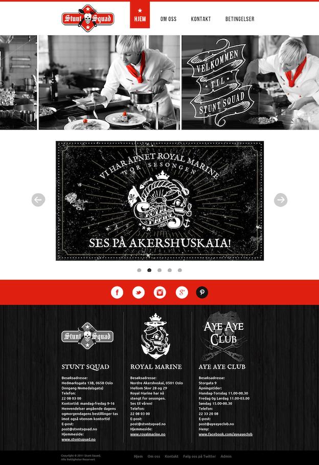 Webdesign von DSKY