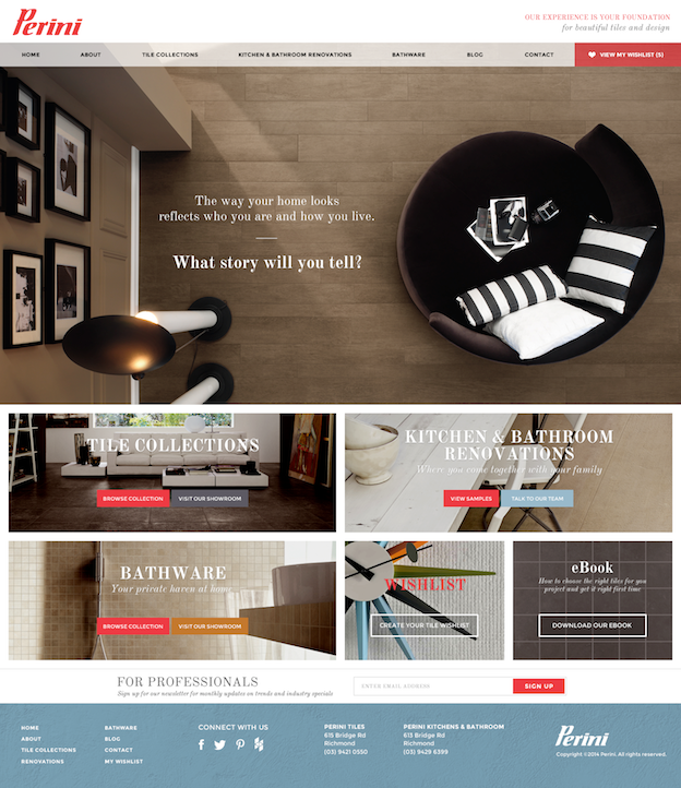 Webdesign von KR Designs