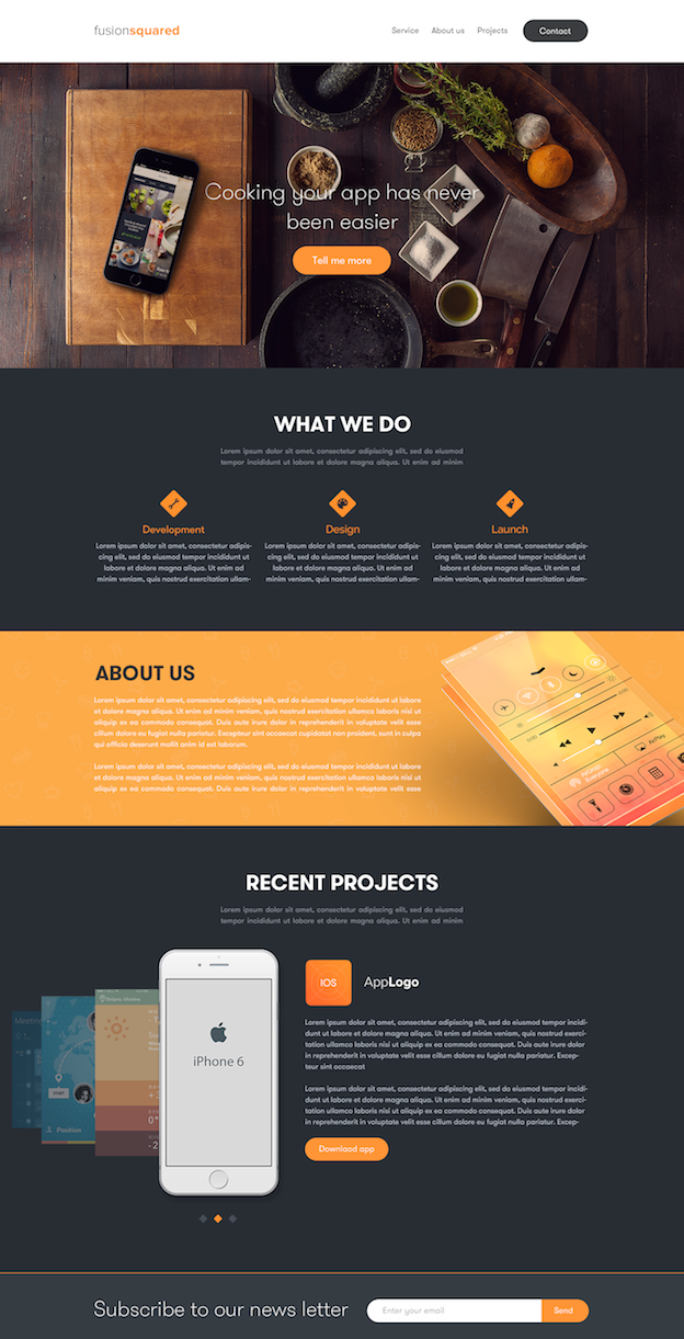 Webdesign von Omar Aly