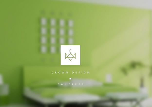 Grünes Logo Design