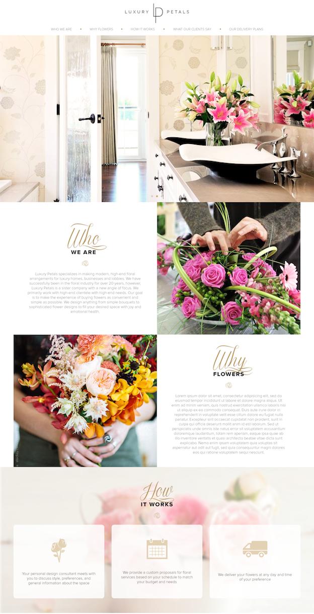Webdesign von Vica Nova