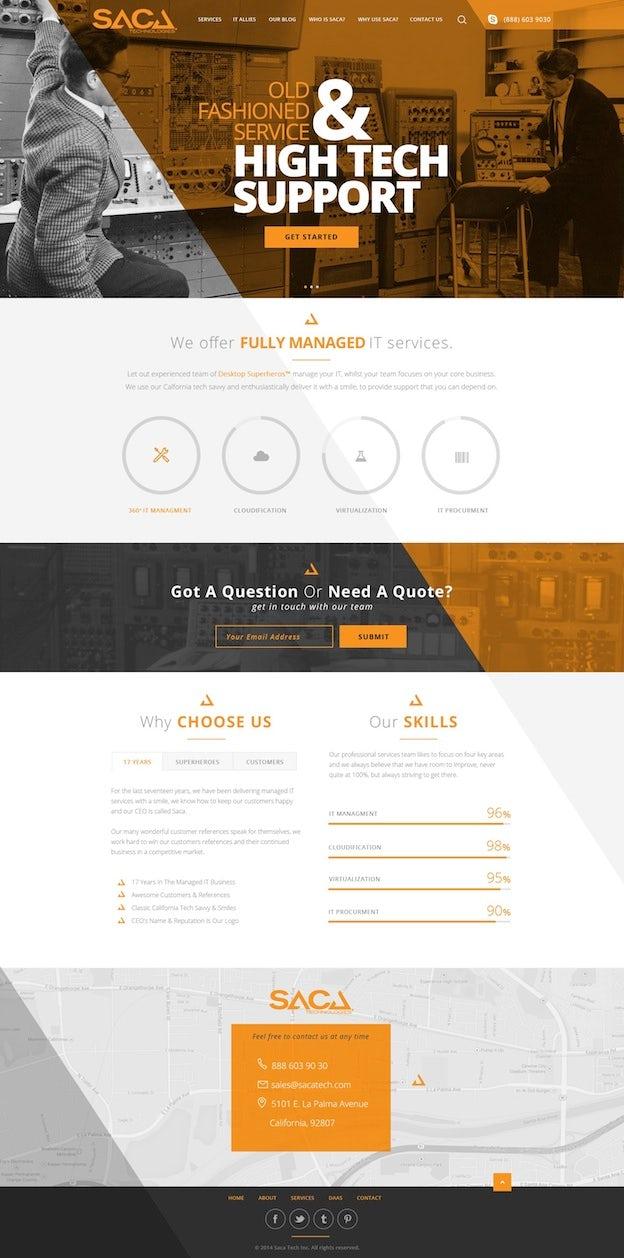 Webdesign von DMG