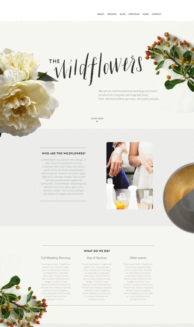 Webdesign von lucygiller