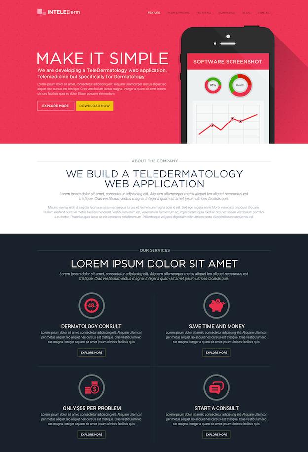 Webdesign von xandreanx