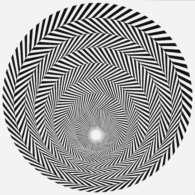 Bridget Riley op art