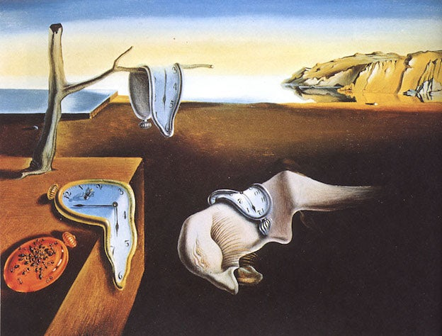 "Salvador Dalí's ""The Persistence of Memory"""