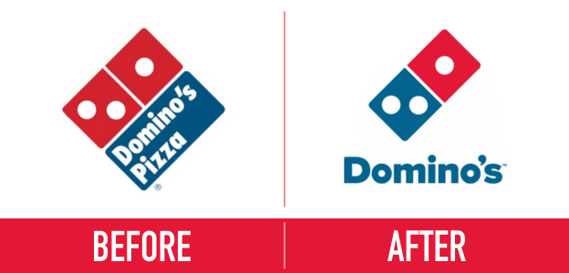 logo redesign - dominos