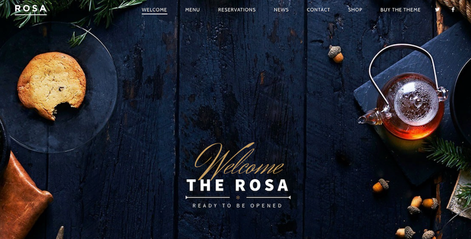 The Rosa Welcome