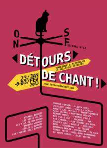 Affiche du festival détours de chant
