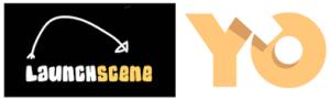 Logos de Launch Scene et YO Media